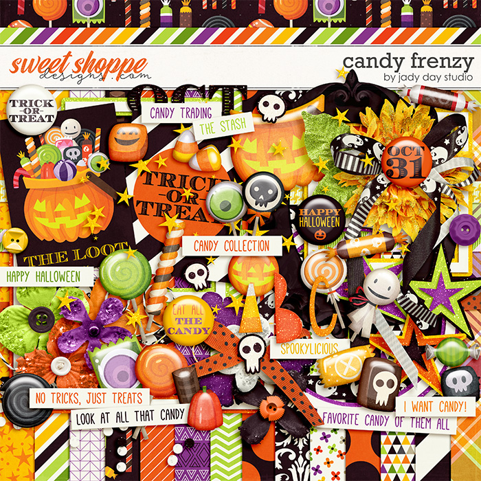 Candy Frenzy by Jady Day Studio