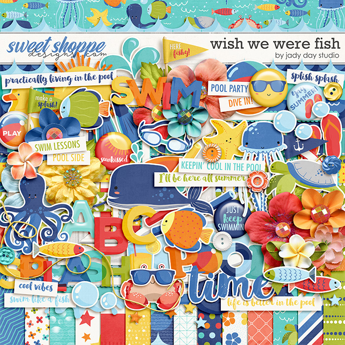 Wish We Were Fish by Jady Day Studio