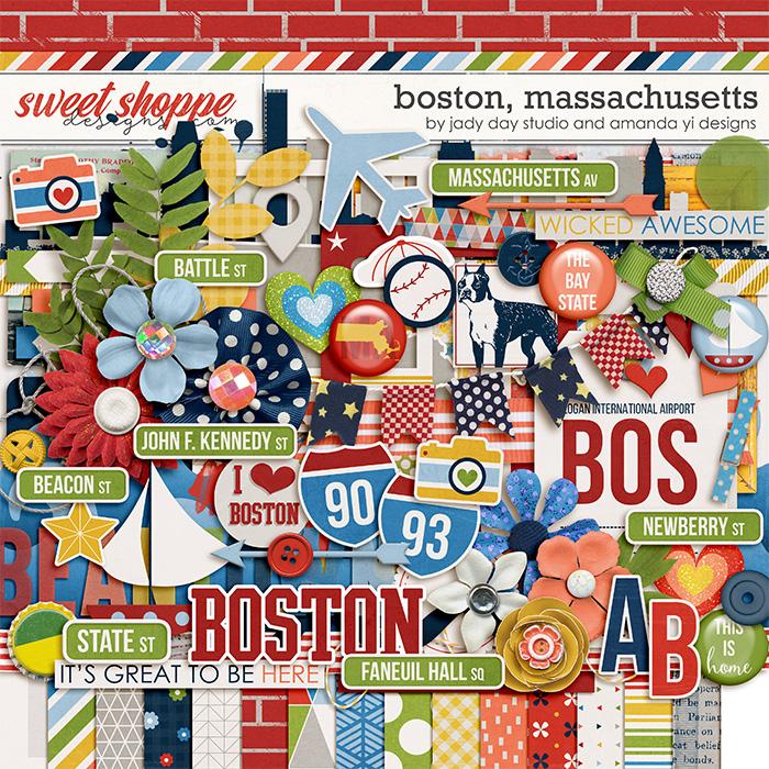 Boston, Massachusetts by Jady Day Studio & Amanda Yi