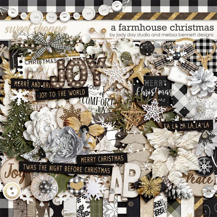 A Farmhouse Christmas by Jady Day Studio & Melissa Bennett