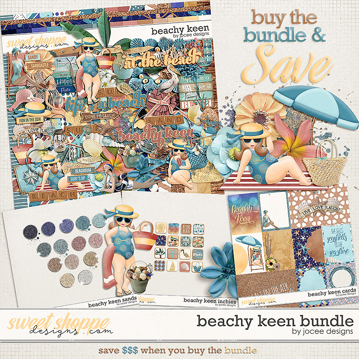Beachy Keen Bundle by JoCee Designs