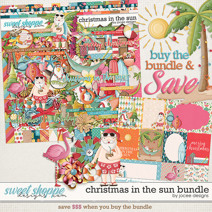 Christmas in the Sun Bundle by JoCee Designs
