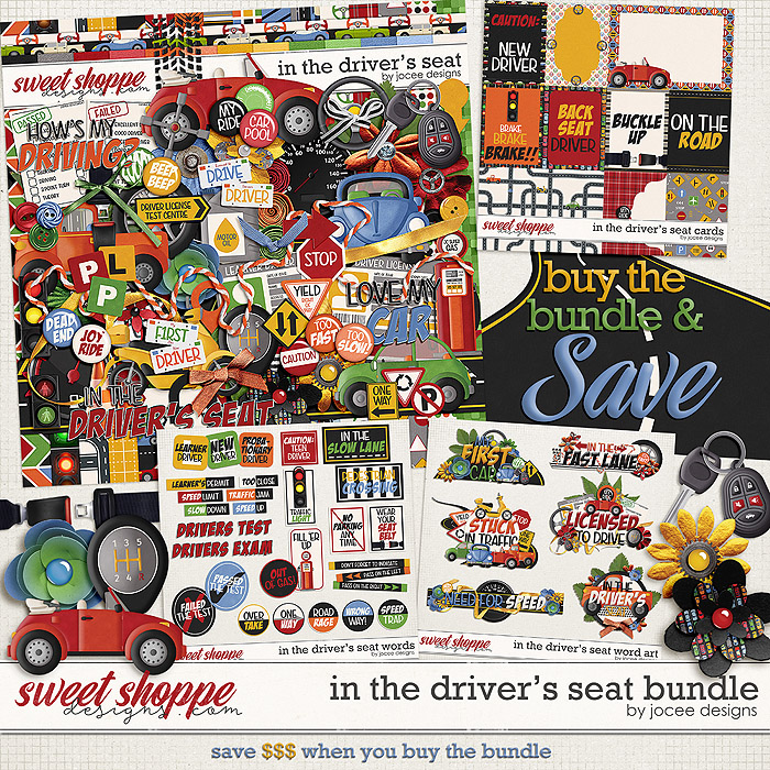 In the Drivers Seat Bundle by JoCee Designs