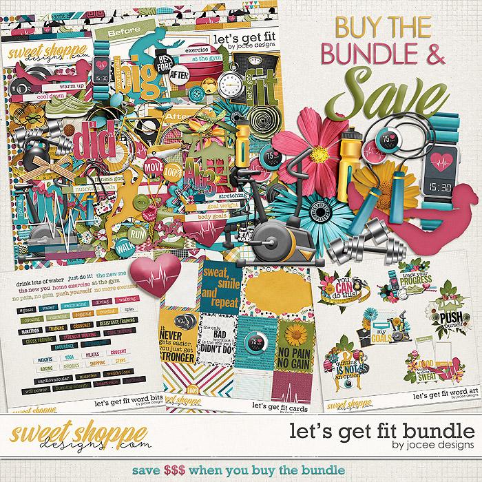 Let's Get Fit Bundle by JoCee Designs