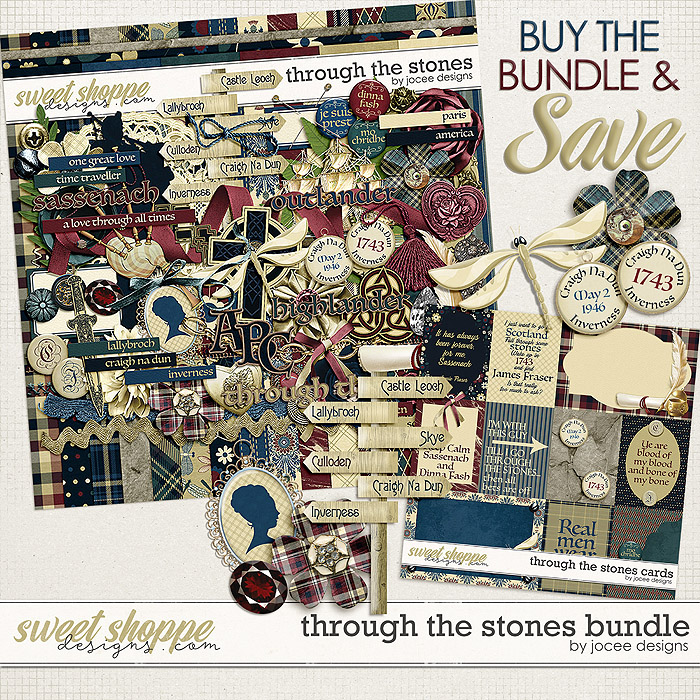 Through the Stones Bundle by JoCee Designs