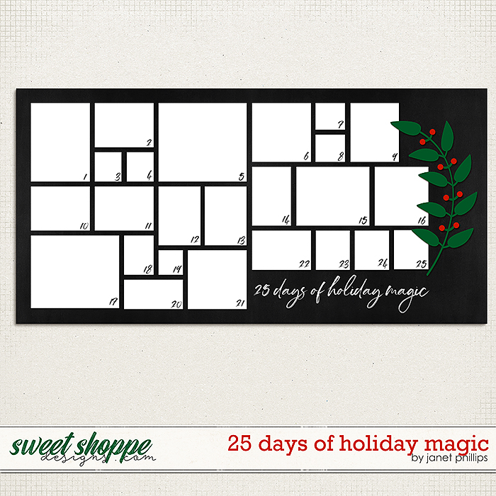 25 DAYS OF HOLIDAY MAGIC by Janet Phillips