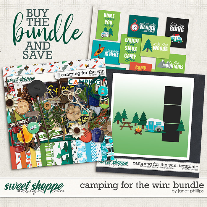 Camping For the Win: Bundle by Janet Phillips