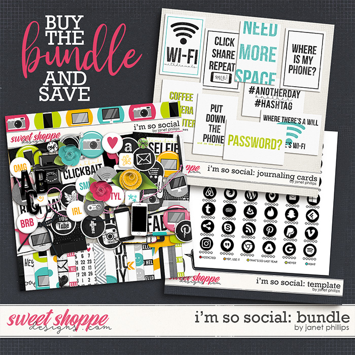 I'm So Social: THE BUNDLE by Janet Phillips
