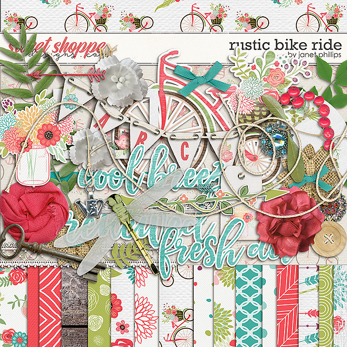Rustic Bike Ride by Janet Phillips