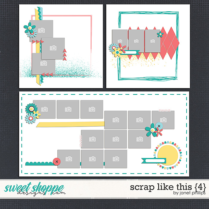Scrap Like This {4} by Janet Phillips