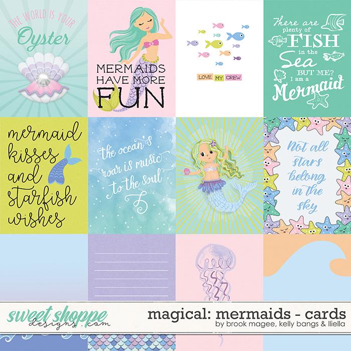 Magical: Mermaids - Cards by Brook Magee, Kelly Bangs & Lliella Designs