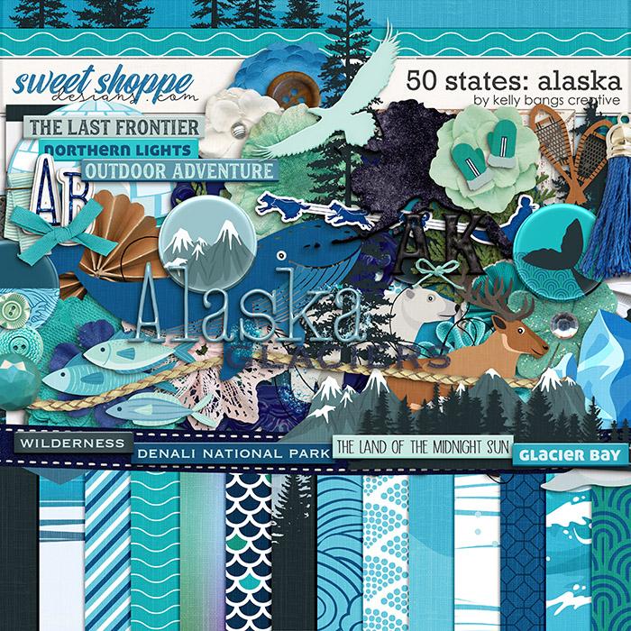 50 States: Alaska by Kelly Bangs Creative