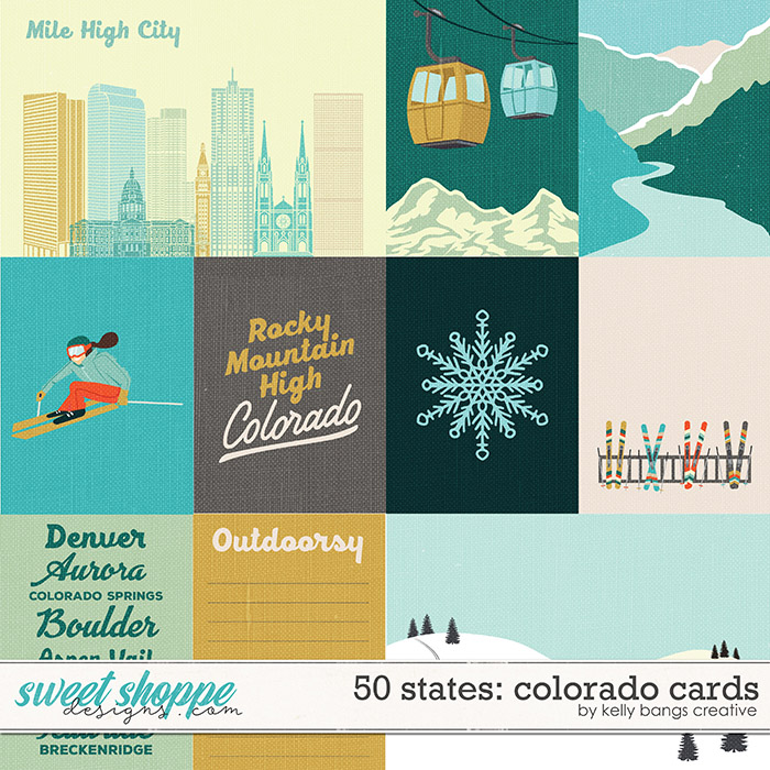 50 States: Colorado Cards by Kelly Bangs Creative