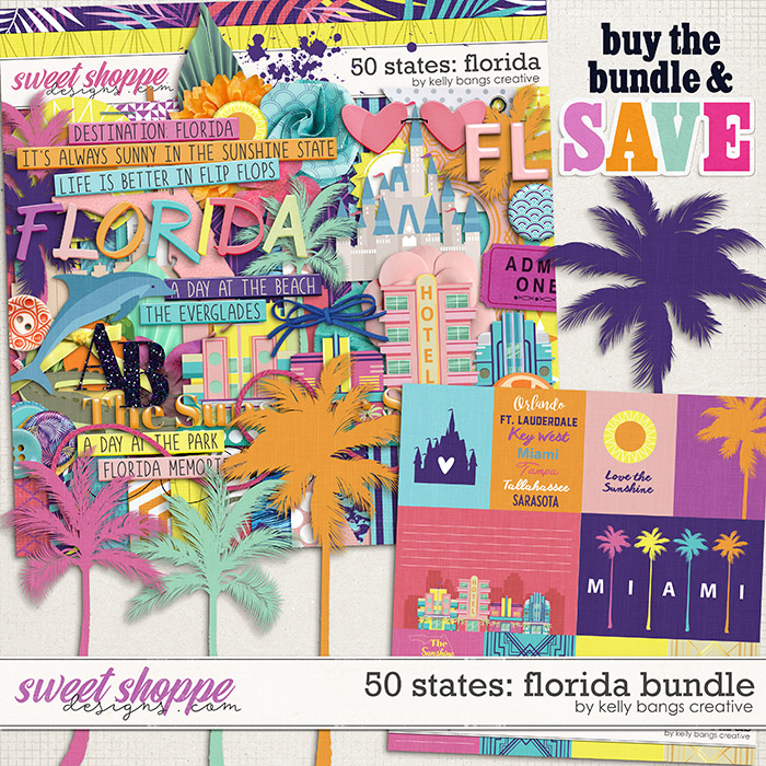 50 States: Florida Bundle by Kelly Bangs Creative