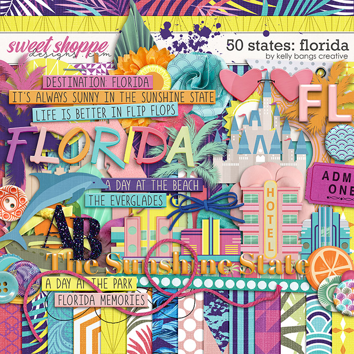 50 States: Florida by Kelly Bangs Creative
