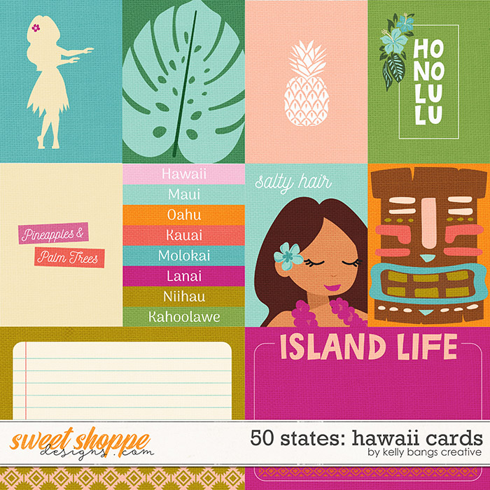 50 States: Hawaii Cards by Kelly Bangs Creative
