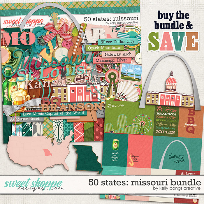 50 States: Missouri Bundle by Kelly Bangs Creative