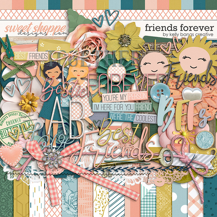 Friends Forever by Kelly Bangs Creative