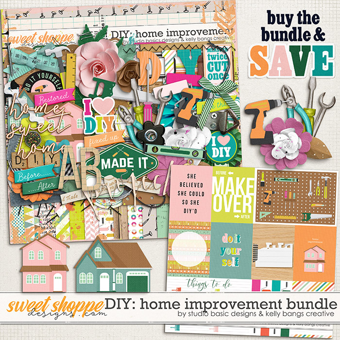 DIY: Home Improvement Bundle by Kelly Bangs Creative and Studio Basic
