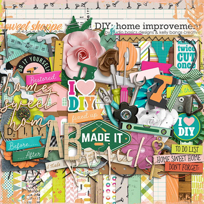 DIY: Home Improvement Kit by Kelly Bangs Creative and Studio Basic