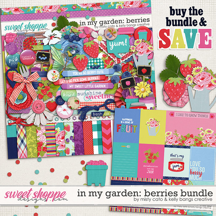 In My Garden: Berries Bundle by Misty Cato and Kelly Bangs Creative