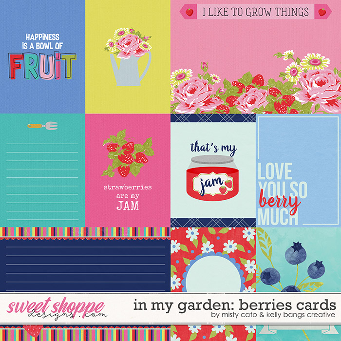 In My Garden: Berries Cards by Misty Cato and Kelly Bangs Creative