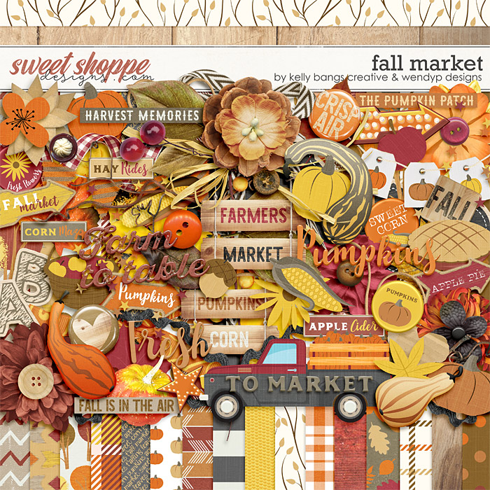 Fall Market by Kelly Bangs Creative and WendyP Designs