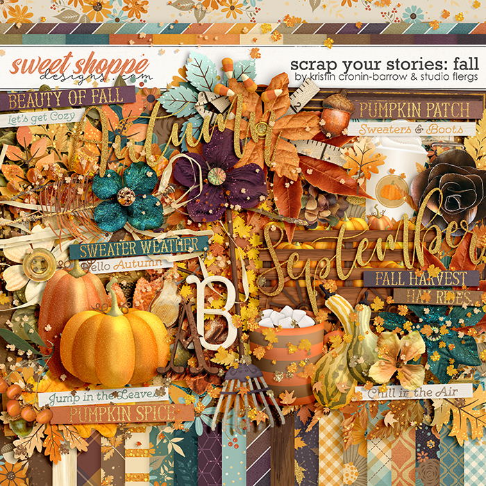 Scrap Your Stories: Fall by Studio Flergs & Kristin Cronin-Barrow