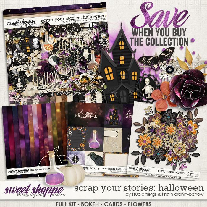 Scrap Your Stories: Halloween- BUNDLE by Studio Flergs & Kristin Cronin-Barrow