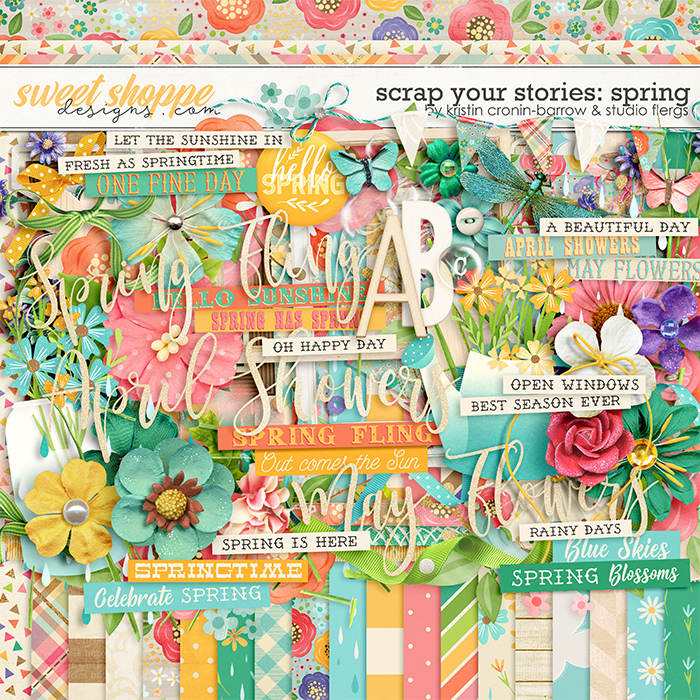Scrap Your Stories: SPRING by Studio Flergs & Kristin Cronin-Barrow