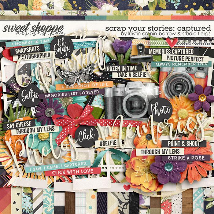 Scrap Your Stories: Captured by Studio Flergs & Kristin Cronin-Barrow