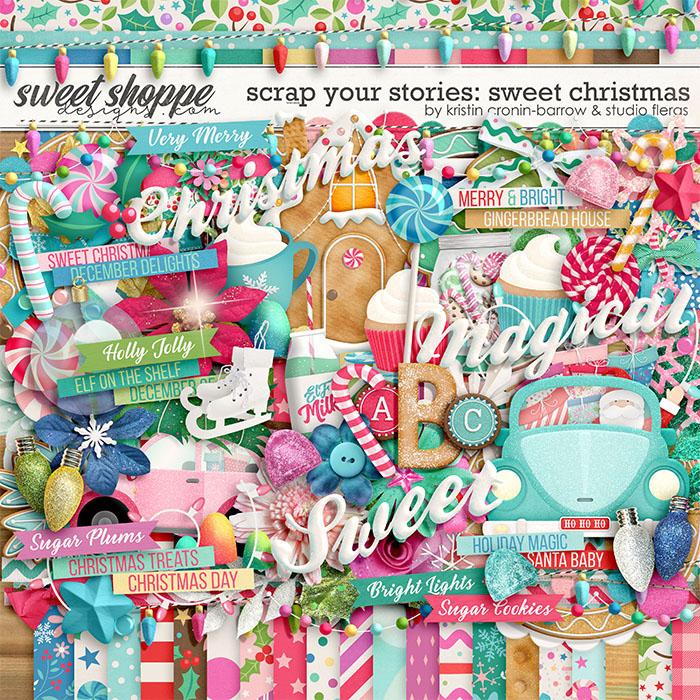 Scrap Your Stories: Sweet Christmas by Studio Flergs & Kristin Cronin-Barrow