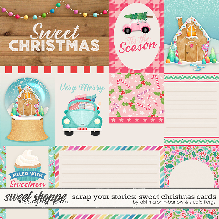 Scrap Your Stories: Sweet Christmas- CARDS by Studio Flergs & Kristin Cronin-Barrow