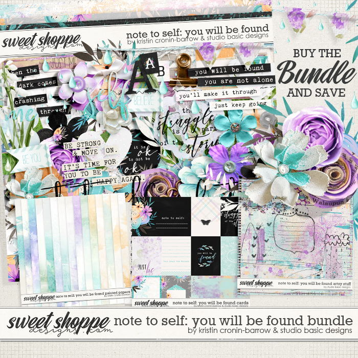 Note To Self: You Will Be Found Bundle by Kristin Cronin-Barrow & Studio Basic