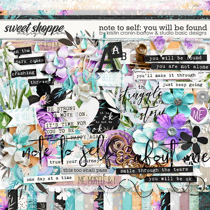 Note To Self: You Will Be Found Kit by Kristin Cronin-Barrow & Studio Basic