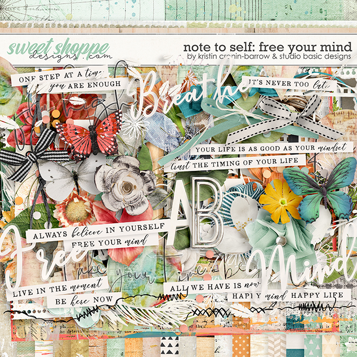 Note To Self: Free Your Mind Kit by Kristin Cronin-Barrow & Studio Basic