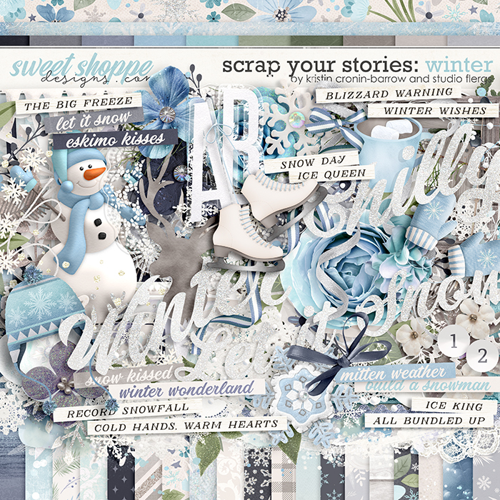 Scrap Your Stories: Winter by Studio Flergs & Kristin Cronin-Barrow