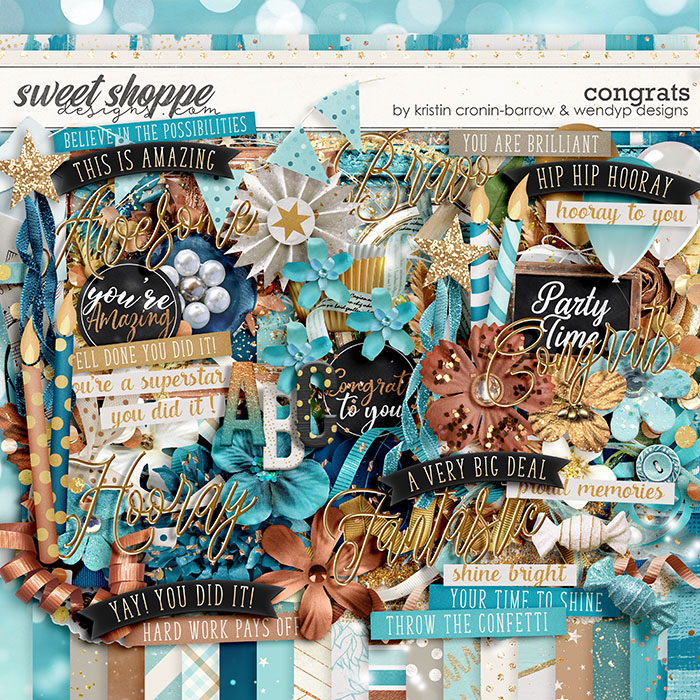 Congrats by Kristin Cronin-Barrow & WendyP Designs
