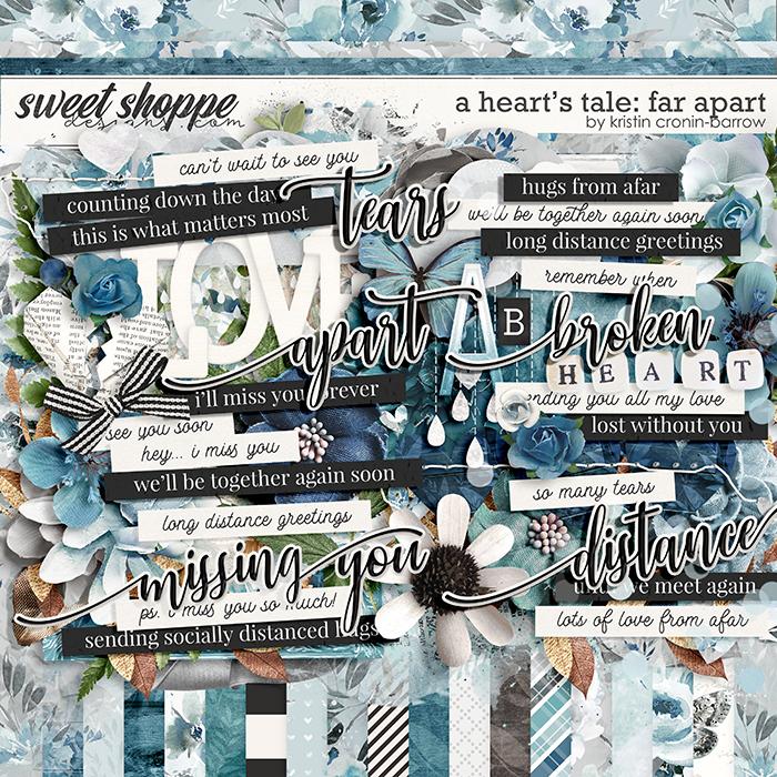 A Heart's Tale: Far Apart by Kristin Cronin-Barrow