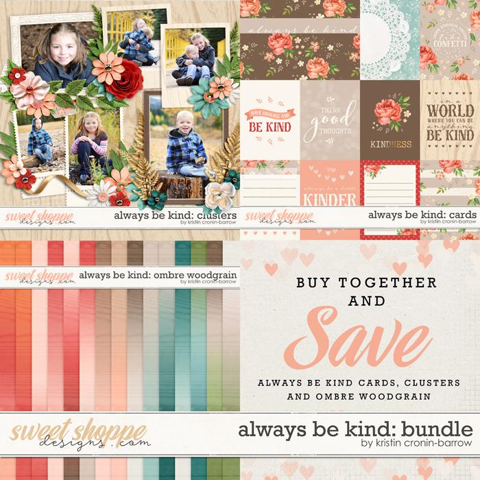 Always be Kind: Bundle by Kristin Cronin-Barrow