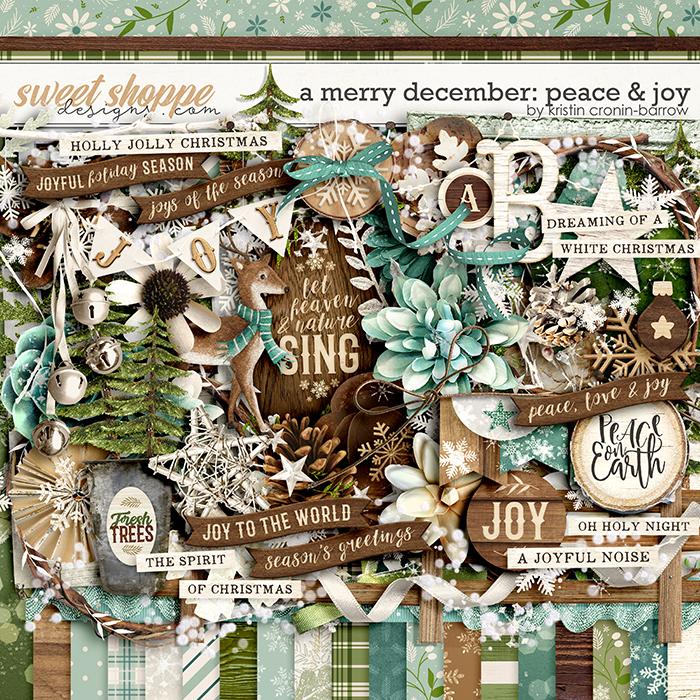 A Merry December: Peace & Joy by Kristin Cronin-Barrow