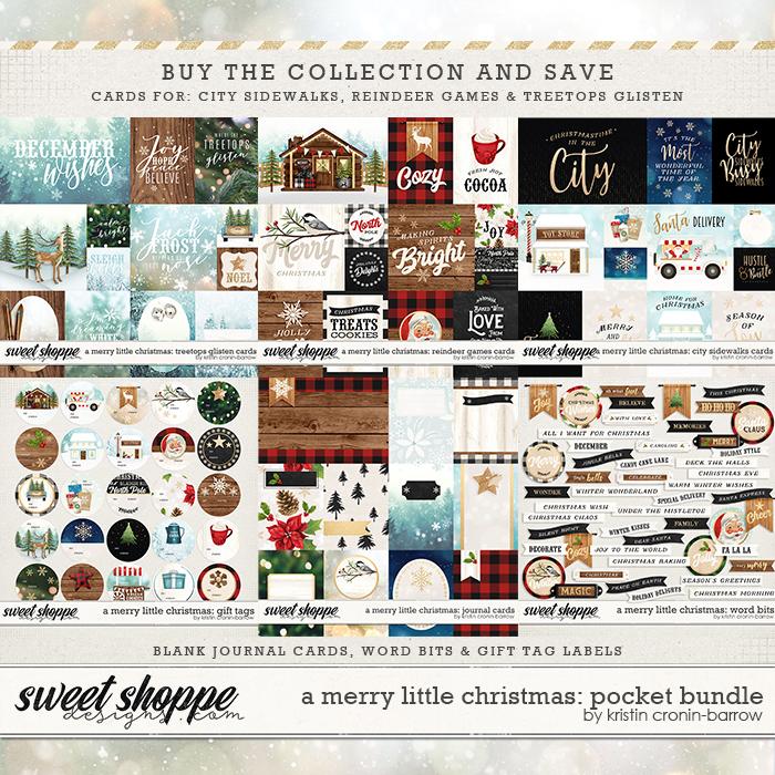 A Merry Little Christmas: Pocket Bundle by Kristin Cronin-Barrow