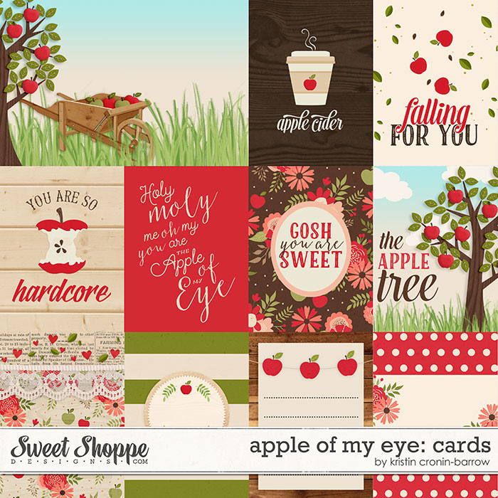 Apple of my Eye: Cards by Kristin Cronin-Barrow