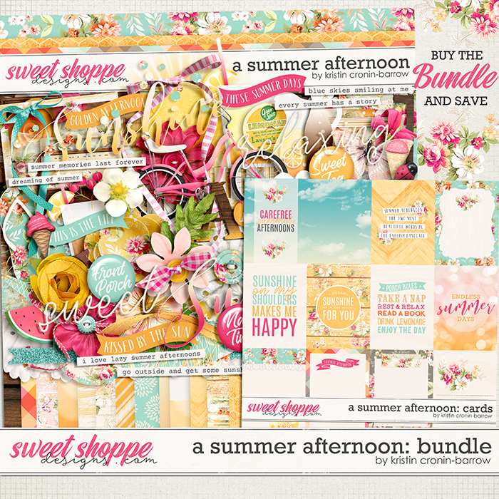 A Summer Afternoon: Bundle by Kristin Cronin-Barrow