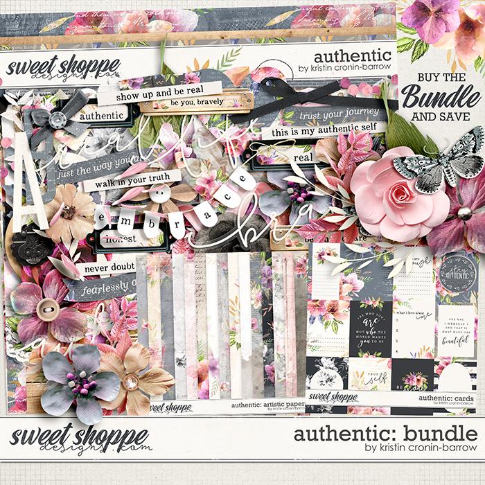 Authentic: Bundle by Kristin Cronin-Barrow