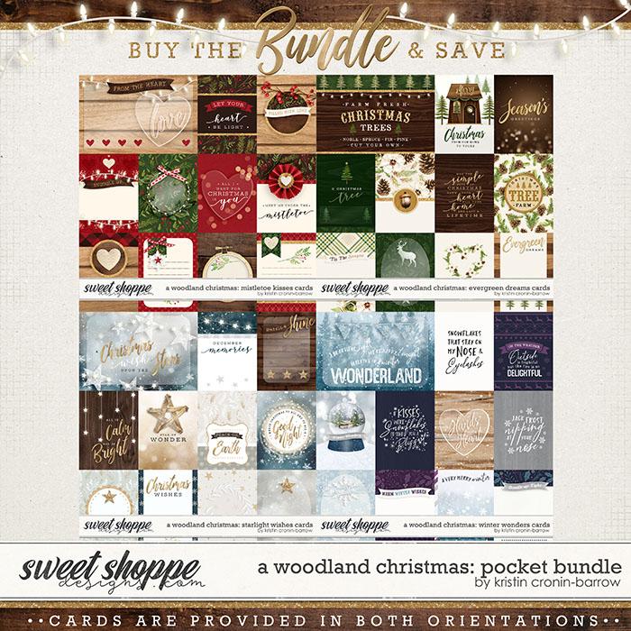 A Woodland Christmas: Pocket Bundle by Kristin Cronin-Barrow