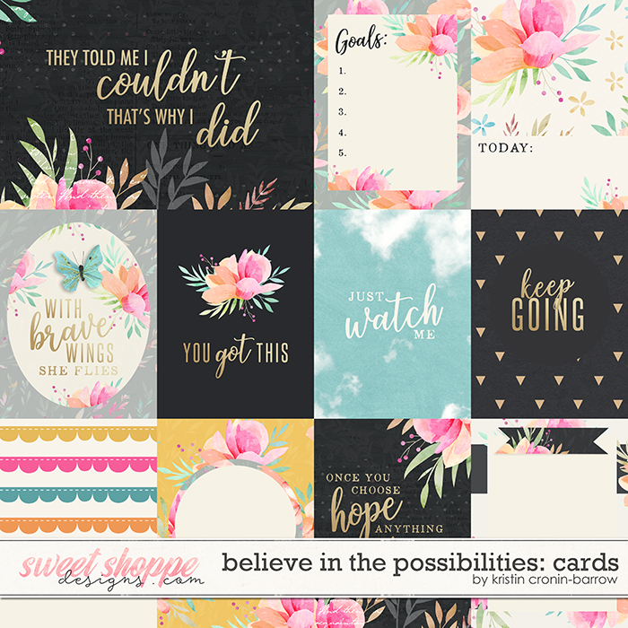 Believe in the Possibilities: Cards by Kristin Cronin-Barrow