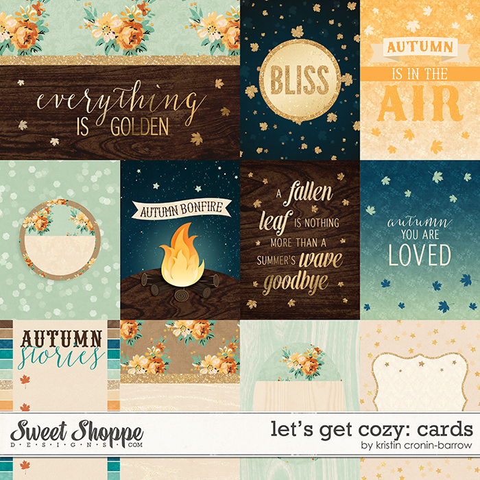 Blissful Autumn Cards by Kristin Cronin-Barrow