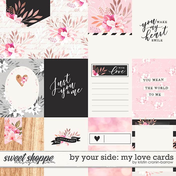 By Your Side: My Love Cards by Kristin Cronin-Barrow