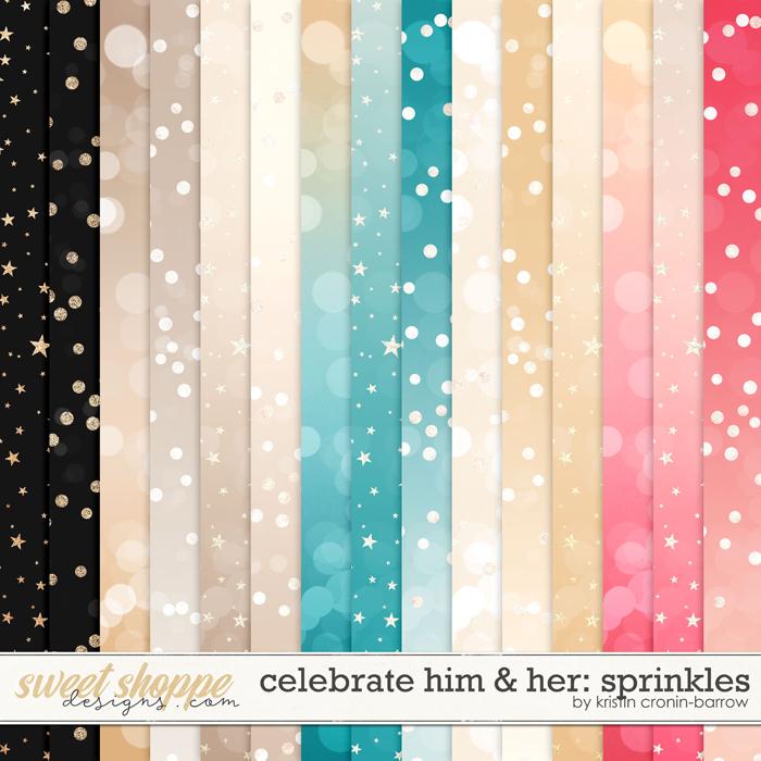 Celebrate Him and Her: Sprinkles by Kristin Cronin-Barrow